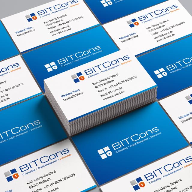 BITCons - IT Service, Visitenkarten