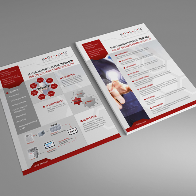 Der Waschsalong | Grafikdesign | Webdesign | Bücom Flyerdesign