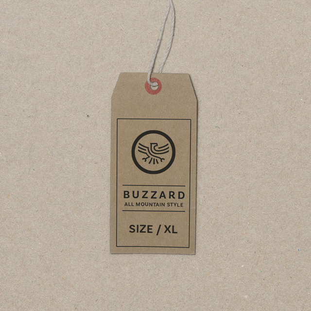 T-Shirt Label Bussard All Mountain Style