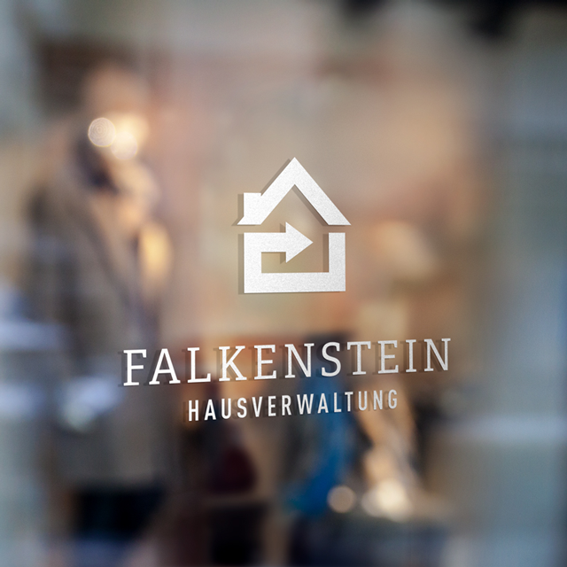 Der Waschsalong | Grafikdesign | Webdesign | Falkenstein Hausverwaltung Corporate Design