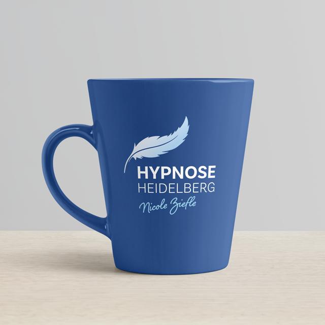 Tassenbeschriftung Hypnose heidelberg