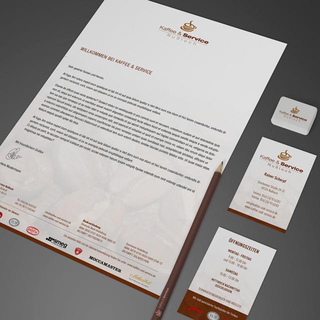 Der Waschsalong | Grafikdesign | Kaffee und Service - Corporate Design