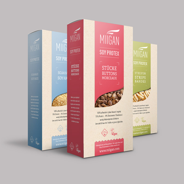Verpackungsdesign - Miigan Bioerzeugnisse