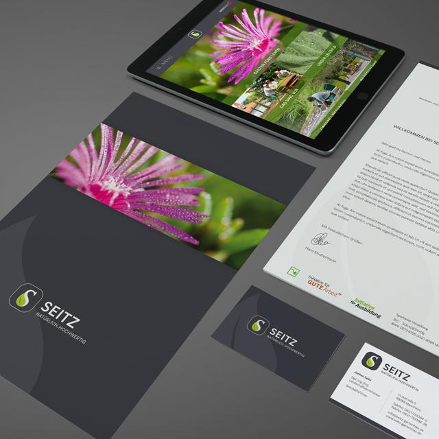 Button zur Seitz Gartenbau Projektseite