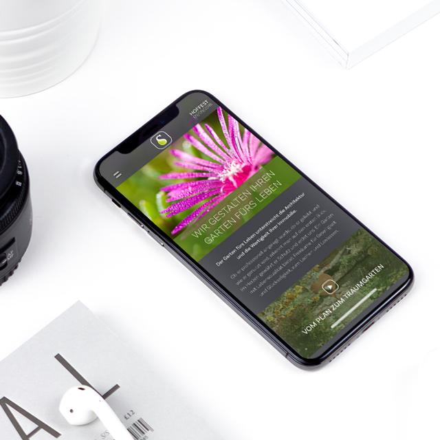 Responsive Webdesign - Seitz Gartenbau