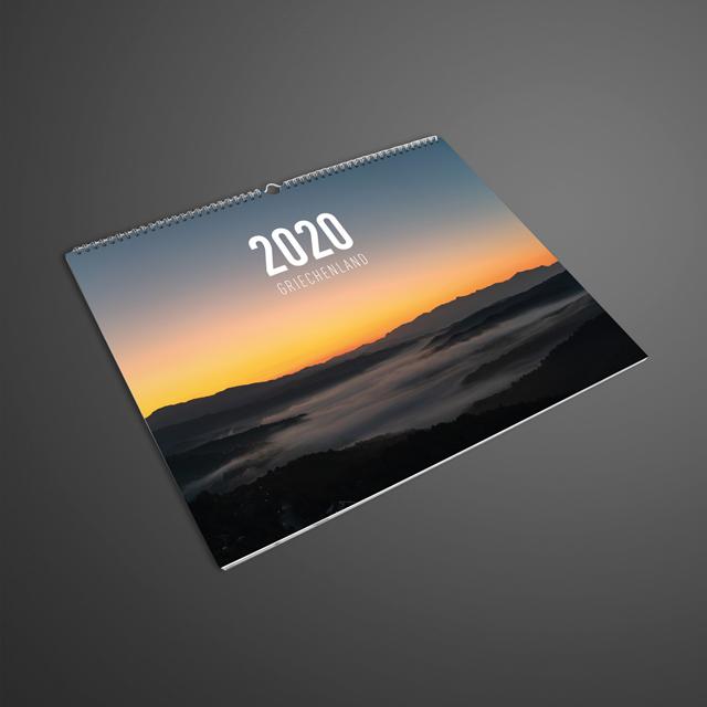 Spiralkalender mit individuellem Design